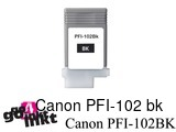 Canon PFI-102 bk inktpatroon compatible