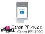 Canon PFI-102 c inktpatroon compatible
