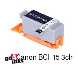 Canon BCI-15 3clr, BCI15 3clr inktpatroon compatible