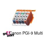 Canon PGI-9, PGI9 Multipack mbk/pc/pm/r/g inktpatroon compatible