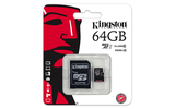 Kingston Class 10 SD 64GB MicroSDXC + adapter (SDC10G2/64GB)