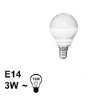 E14 LED Bol Lamp 3W Warm
