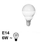 E14 LED Bol Lamp 6W Warm