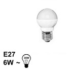 E27 LED Bol Lamp 6W Warm