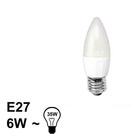 E27 LED Kaars Lamp 6W Warm