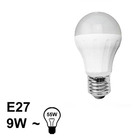 E27 LED Bol Lamp 9W Warm Dimbaar
