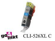 Canon CLI-526 c, CLI526 c inktpatroon met chip compatible