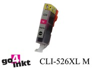 Canon CLI-526 m, CLI526 m inktpatroon met chip compatible