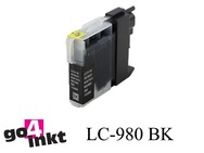 Brother LC-980bk, LC980bk inktpatroon compatible