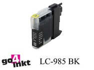 Brother LC-985bk, LC985bk inktpatroon compatible