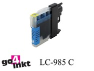 Brother LC-985c, LC985c inktpatroon compatible