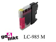 Brother LC-985m, LC985m inktpatroon compatible