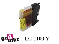 Brother LC-1100y, LC1100y inktpatroon compatible