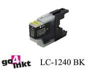 Brother LC-1240bk, LC1240bk inktpatroon compatible