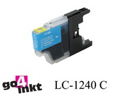 Brother LC-1240c, LC1240c inktpatroon compatible