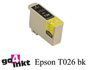 Epson T026 bk inktpatroon compatible