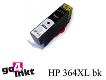 HP 364XL bk inktpatroon compatible met chip