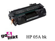 HP 05A bk, CE505A toner remanufactured