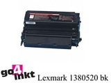 Lexmark 1380520 bk toner remanufactured