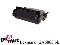Lexmark 12A6865 bk toner remanufactured