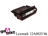 Lexmark 12A0825 bk toner remanufactured