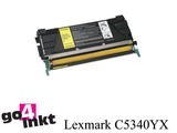 Lexmark C5340YX y toner remanufactured