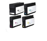 HP 950XL/951XL bk en 3-clr inktpatroon compatible (4st)