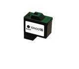 Lexmark 16 bk inktpatroon remanufactured