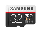 Samsung Pro Plus Micro SDHC 32GB Class 10 + adapter (MB-MD32GA)