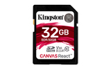 Kingston Canvas React 32GB SDHC (SDR/32GB)