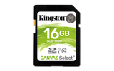 Kingston Canvas Select 16GB SDHC (SDS/16GB)