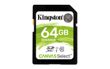 Kingston Canvas Select 64GB SDXC (SDS/64GB)