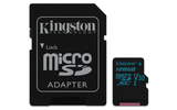 Kingston Canvas Go! 128GB Micro SDXC + adapter (SDCG2/128GB)