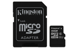 Kingston Canvas Select 16GB Micro SDHC + adapter (SDCS/16GB)