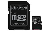 Kingston Canvas Select 64GB Micro SDXC + adapter (SDCS/64GB)