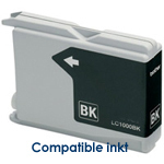 Brother LC-1000bk, LC1000bk inktpatroon compatible