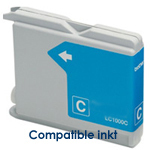 Brother LC-970c, LC970c inktpatroon compatible